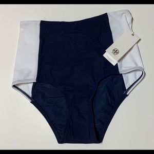 Tory Burch Lipsi High-Waisti Swim Bottoms